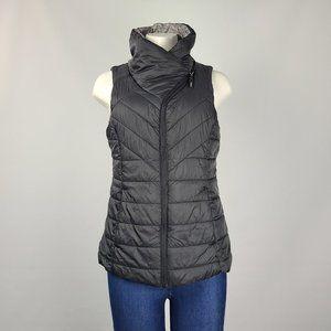 Mondetta Black Reversible Puffer Vest Size M